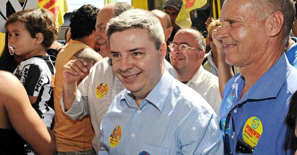 Antonio Anastasia durante campanha ao Senado por Minas Gerais