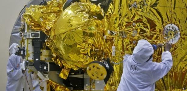 A missão da Índia a Marte foi uma das iniciativas interplanetárias mais baratas já realizadas - ISRO/BBC