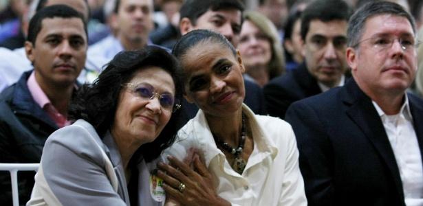 Marina Silva durante encontro com lideranças evangélicas em São Paulo
