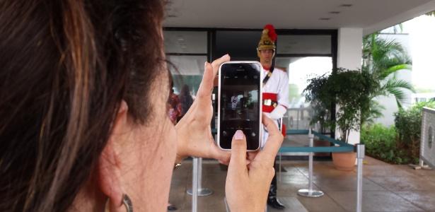 Sem 'dancinha', Dragão da Independência também atrai atenções, em Brasília - Leandro Prazeres/UOL