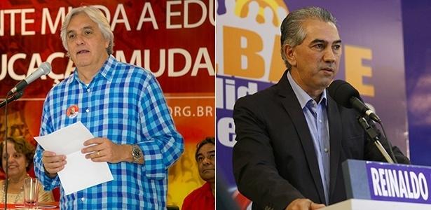 Delcídio (PT) e Azambuja (PSDB) no 2º turno em MS - Divulgação
