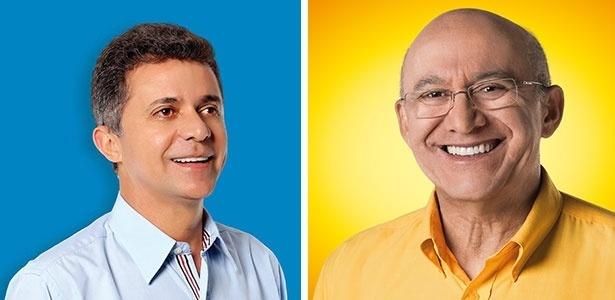Expedito Junior (PSDB) (à esq.) enfrenta Confúcio Moura (PMDB) no 2° turno