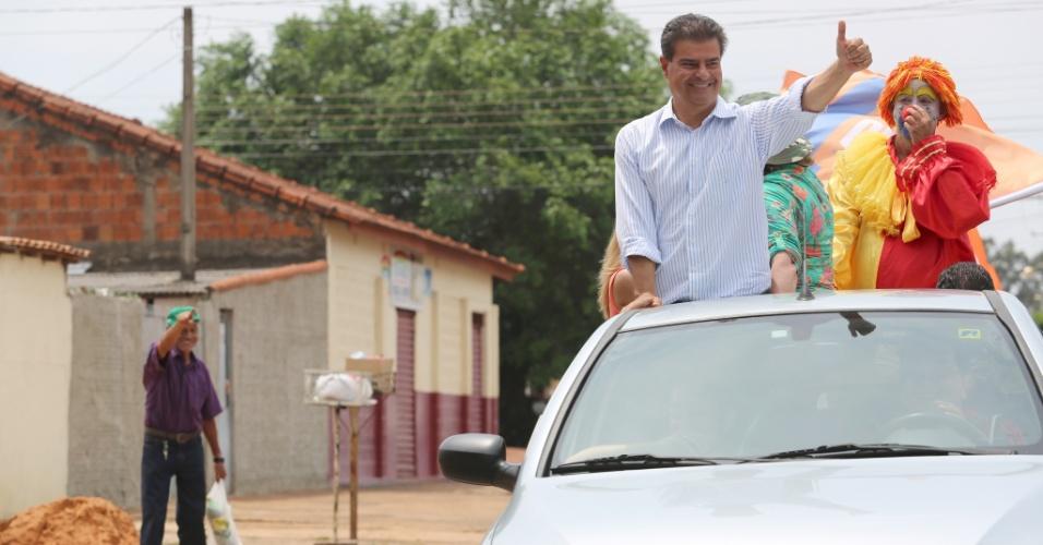 28.set.2014 - Nelson Trad Filho, ex-prefeito de Campo Grande, é candidato pelo PMDB ao governo de Mato Grosso do Sul