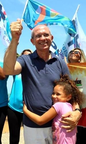 30.set.2014 - Paulo Hartung (PMDB), candidato ao governo do Estado do Espírito Santo