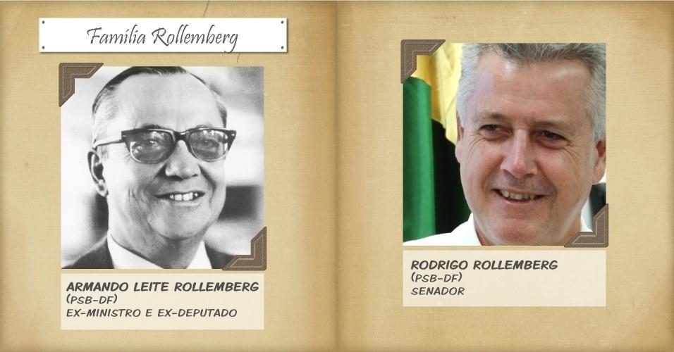 1º.out.2014 - O senador Rodrigo Rollemberg, que concorre a governador do Distrito Federal, é um dos 14 filhos de Armando Leite Rollemberg, ex-ministro do Superior Tribunal de Justiça e ex-deputado pelo PSB. Rodrigo Rollemberg foi deputado distrital, secretário de Turismo, secretário de Inclusão Social do Ministério de Ciência e Tecnologia no governo Lula e deputado federal