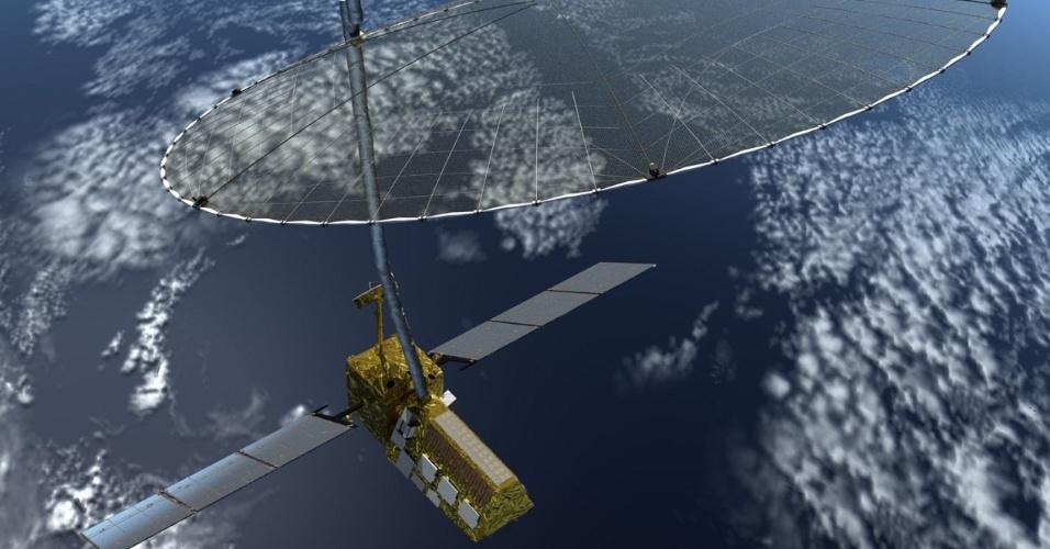 1º.out.2014 - SATÉLITE PARA OBSERVAR A TERRA - O satélite Nisar, ou Nasa-Isro, com lançamento previsto para 2020, permitirá fazer observações e missões detalhadas dos mais complexos processos da Terra, como perturbações dos ecossistemas, erupções vulcânicas, degelo dos glaciares, terremotos e tsunamis. O lançamento do satélite é resultado de um acordo de cooperação entre a Nasa (agência espacial americana) e a Isro (agência espacial indiana)