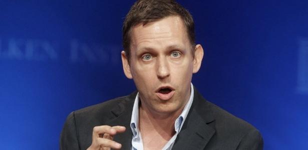 Peter Thiel é cofundador do PayPal e se tornou investidor do Facebook em 2004