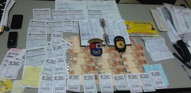 Com os vereadores foram encontrados de autorizações para abastecimento e R$ 820