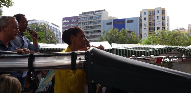 "Marina faz carreata ""envergonhada"" no Rio - Guilherme Balza/UOL"