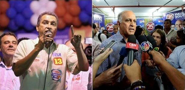 3.out.2014 - Rui Costa e Paulo Souto disputam o governo da Bahia