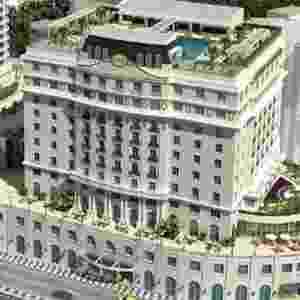 Projeto do Gloria Palace Hotel, revitalização promovida no hotel por Eike Batista - Divulgação/Grupo EBX