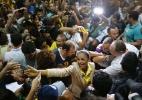 Ao desembarcar no Acre, Marina se diz confiante quanto a segundo turno - Sergio Moraes/Reuters