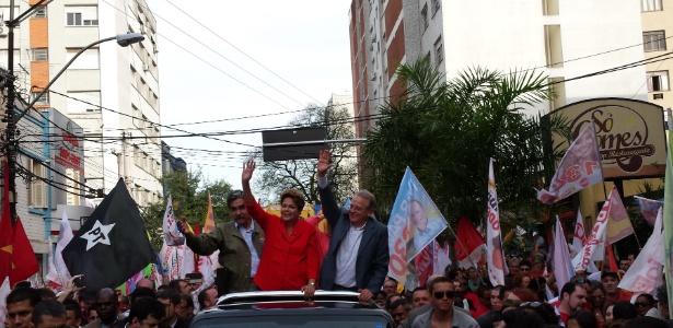 Análise: Dilma mantém sangue frio - Leandro Prazeres/UOL