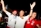 Governador e candidato à reeleição, Jackson Barreto (PMDB) participa de carreata em Sergipe - Lúcio Telles/Divulgação
