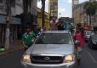 Candidato ao Senado Wellington Fagundes (PR) faz carreata pelo centro de Cuiabá - Divulgação