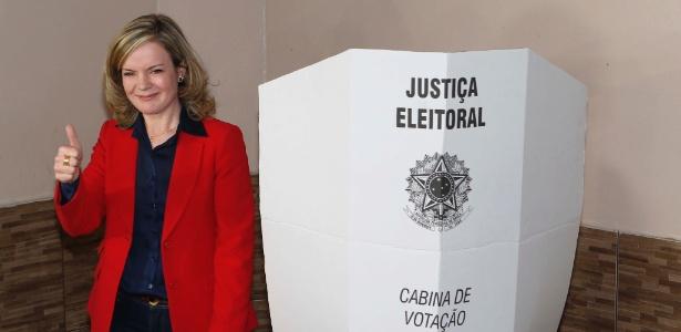 Gleisi vota no PR - Wilson Pedrosa/ Fotos Públicas