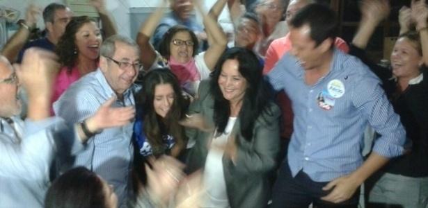 Rose de Freitas comemora eleição para o cargo de senadora pelo Espírito Santo