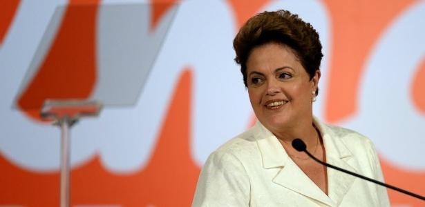 Dilma fala em recado das urnas - Evaristo Sá/AFP