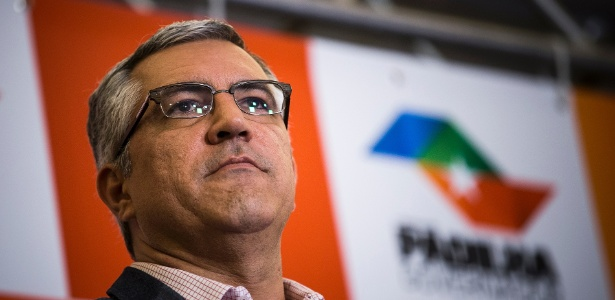 O secretário da Saúde de SP, Alexandre Padilha