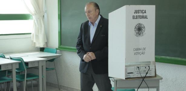 Eymael vota em SP - Carlos Pessuto/ Brasil Photo Press/ Estadão Conteúdo