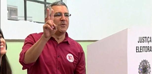Padilha vota em SP - SBT/ UOL