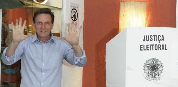 Crivella: pesquisas não decidem eleição - Carlos Wrede/ Agência O Dia/Estadão Conteúdo