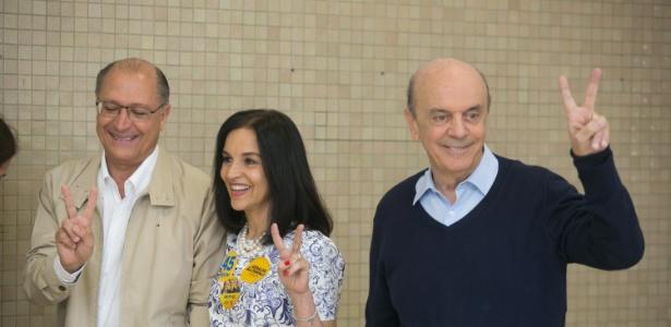 Serra vota em SP - Thiago Bernardes/Frame/Estadão Conteúdo