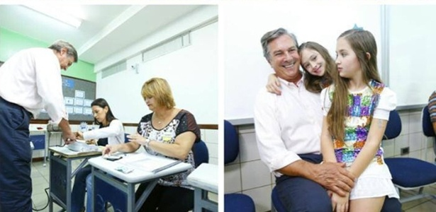 O senador Fernando Collor (PTB-AL) foi reconduzido ao cargo neste domingo, durante votação neste domingo (5)