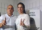 Pedro Taques (PDT) vota no Ginásio Aecim Tocantins, em Cuiabá - Reprodução/Facebook