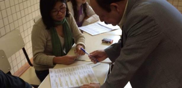 Levy Fidelix vota em SP - Divulgação
