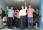 Candidato Renato Casagrande (PSB) vota em colégio de Vitória - Jussara Martins/Futura press/Futura Press/Folhapress