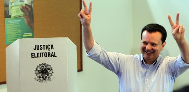 Kassab vota em SP - Werther Santana/ Estadão Conteúdo