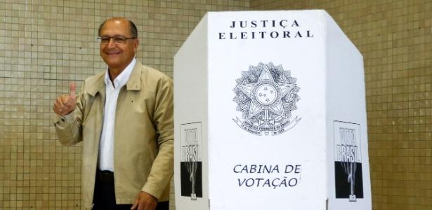 Alckmin é reeleito e garante 6º mandato do PSDB em SP - Adriana Spaca/Brazil Photo Press/Agência O Globo