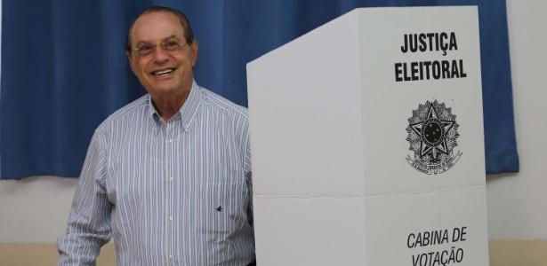 Maluf vota em SP - Renato S. Cerqueira/ FuturaPress/ Estadão Conteúdo