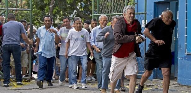 Pressa - Vanderlei Almeida/ AFP