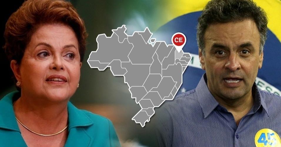 Dilma Aécio Ceará