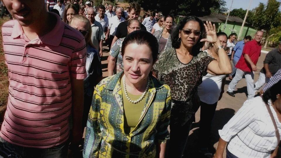 19.jun.2014 - A deputada federal Marinha Raupp (PMDB), 53, foi reeleita em 5 de outubro com 61.419 votos (7,69%) e obteve a maior votação entre os candidatos em Rondônia. Marinha é mulher do senador Valdir Raupp (PMDB), que cumpre mandato até 2018 e já governou o Estado entre 1995 e 1998. A deputada peemedebista se elegeu pela primeira vez em 1994 e parte para o seu sexto mandato