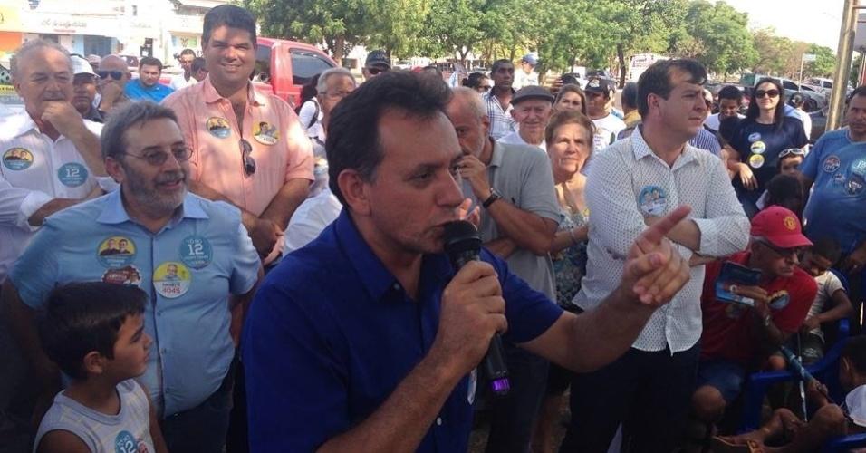 21.set.2014 - Com 127.749 votos (8,78%), o deputado federal Nilson Leitão (PSDB), 45, foi reeleito em 5 de outubro com a maior votação entre os candidatos do Mato Grosso. Apesar da votação expressiva, Leitão foi o único candidato eleito para a Câmara Federal pelo PSDB no Estado. Das outras sete vagas, duas ficaram com o PSB, enquanto PP, PT, PMDB, PSC e Pros elegeram um deputado federal pelo Mato Grosso cada um