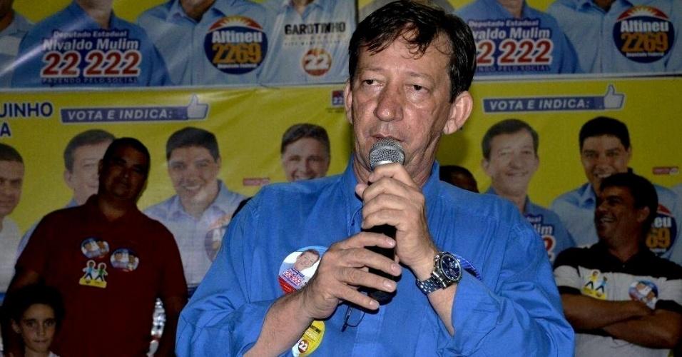6.out.2014 - Apoiado por Anthony Garotinho, pleiteante de seu partido ao governo do Estado do Rio de Janeiro, Nivaldo Mulim (PR) foi eleito deputado estadual com 93.192 votos, o que representa 1,2% do total de votos válidos