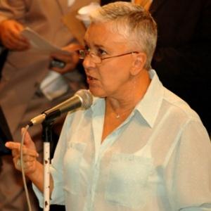 Cidinha Campos (PDT) desistiu da aposentadoria para aceitar a indicação para vice na chapa de Pedro Paulo Carvalho (PMDB) - Divulgação/Alerj