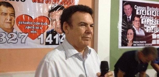 """Campos Machado negou haver qualquer irregularidade nas movimentações financeiras e disse que as investigações contra ele representam uma """"vingança"""""""