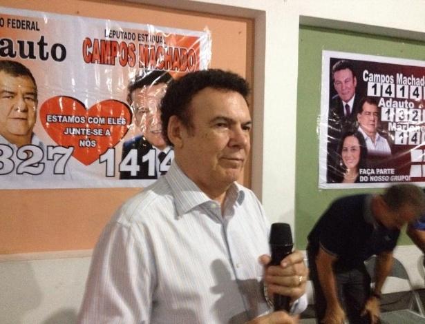 Líder do PTB na Assembleia Legislativa no Estado de São Paulo, o advogado criminalista Campos Machado recebeu 192.369 votos (0,94% do total) e foi o sétimo deputado estadual mais votado de 2014. Conquistou o sétimo mandado consecutivo na Casa. Em 2010, foi o quarto mais votado, com mais de 214 mil votos