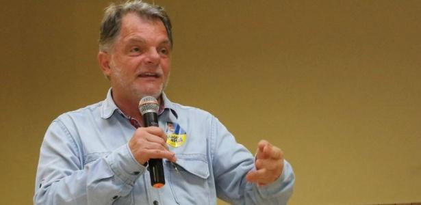 O deputado Mauro Bragato (PSDB-SP), condenado em ação de improbidade administrativa por supostamente fraudar compra de leite no período em que foi prefeito do município de Presidente Prudente (SP), de 1997 a 2000