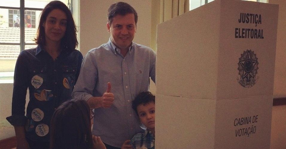 Rodrigo de Castro foi eleito deputado federal pelo PSDB em Minas Gerais com mais de 292 mil votos