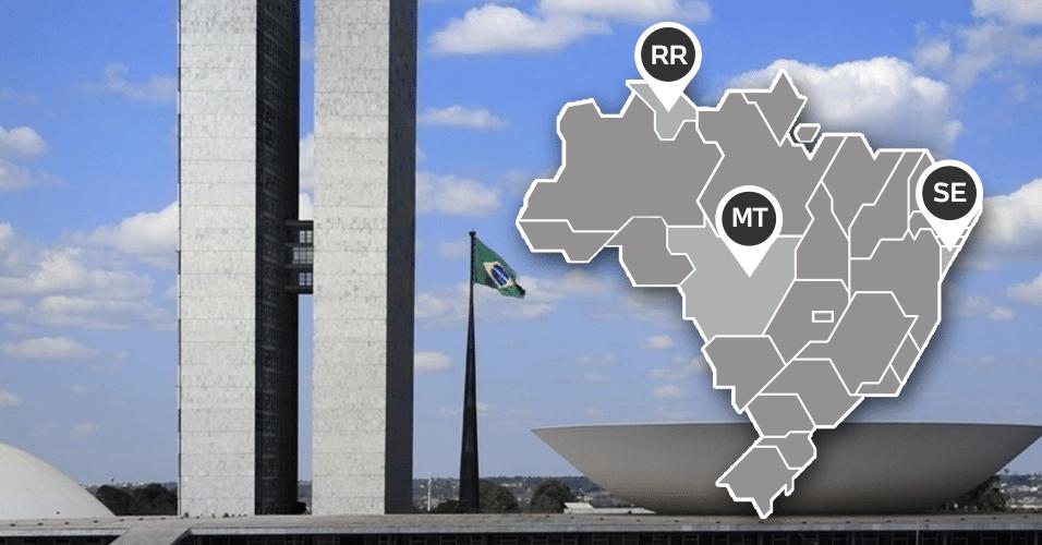curiosidades sobre as eleições 2014 Mato Grosso Roraima Sergipe
