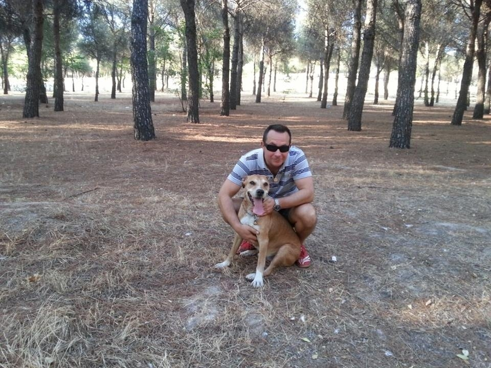 O espanhol Javier Romero, marido da enfermeira Teresa Romero, que contraiu ebola em Madri ao cuidar de infectados pelo vírus denuncia a ordem de sacrificar seu cachorro para evitar que o ebola se espalhe