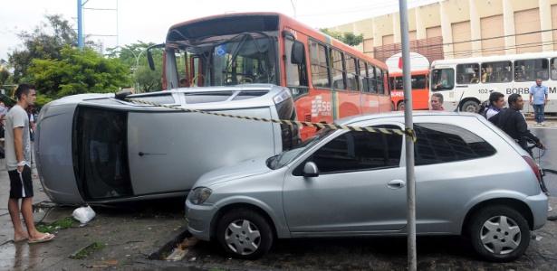 Acidente deixa feridos em Boa Viagem, no Recife: capital mais letal no trânsito - Marlon Costa - 10.out.2014 / FuturaPress/ Estadão Conteúdo