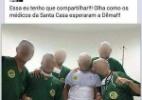Santa Casa investiga médicos fotografados ironizando Dilma - Reprodução Facebook