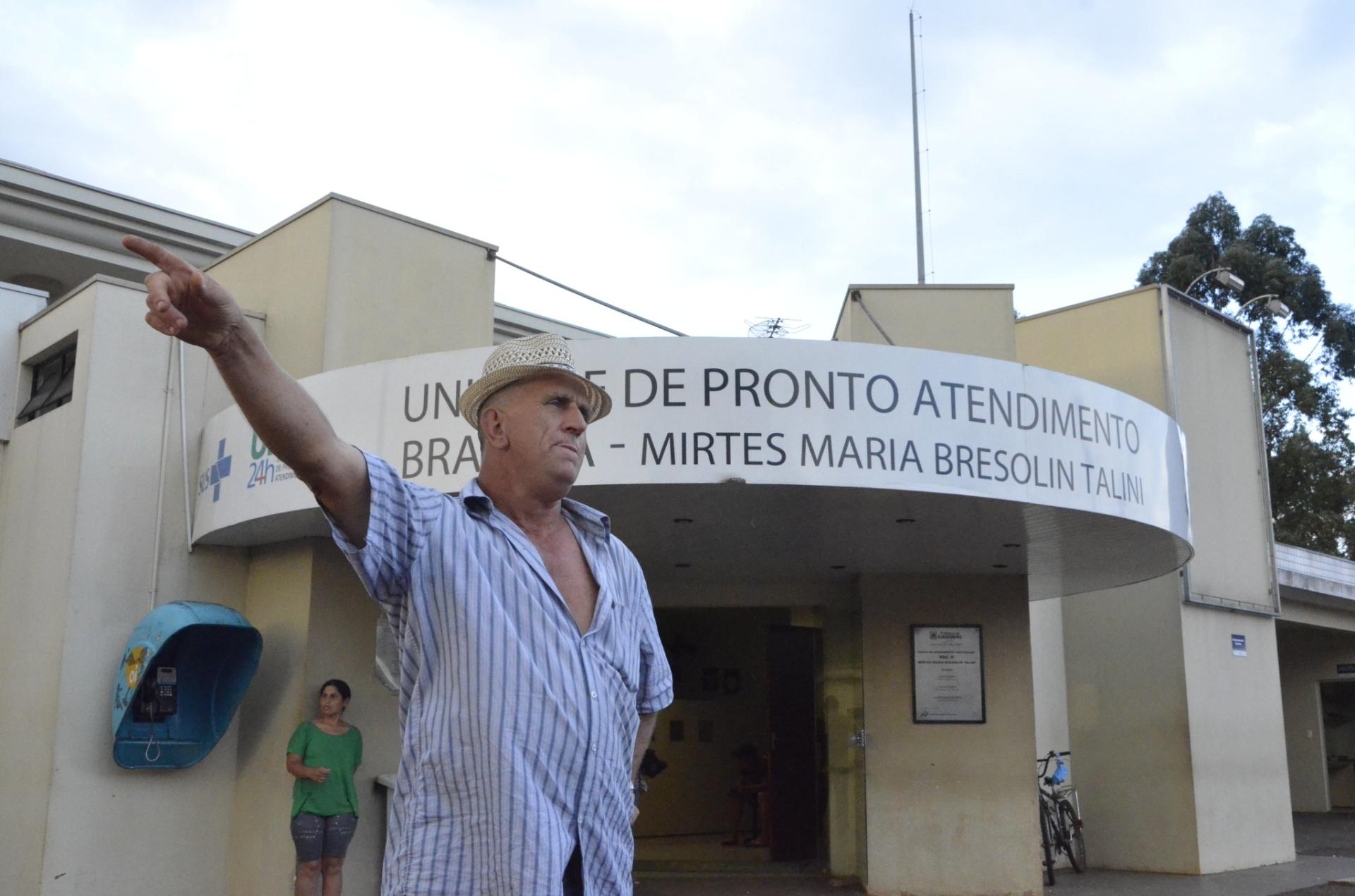 11.out.2014 - Jair Carpeledo é um dos 68 monitorados por conta da suspeita da presença do vírus ebola em Cascavel