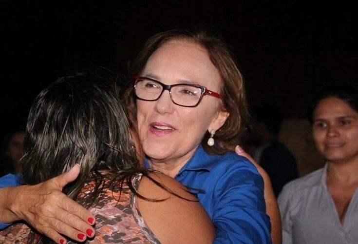 14.out.2014 - Dra. Zenaide Maia, 59, do PR, foi eleita deputada federal pelo Rio Grande do Norte com a maior votação entre as concorrentes, com 134.588 votos. Ela é casada com o prefeito de São Gonçalo do Amarante, Jaime Calado, e vice-presidente do PR Mulher